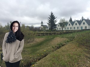 Ines in Iceland